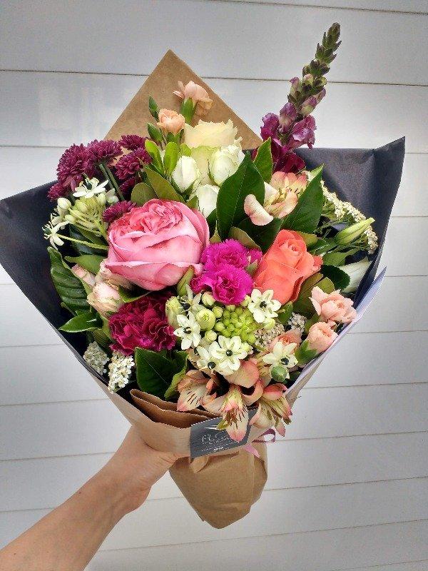 Buquê de flores tamanho P