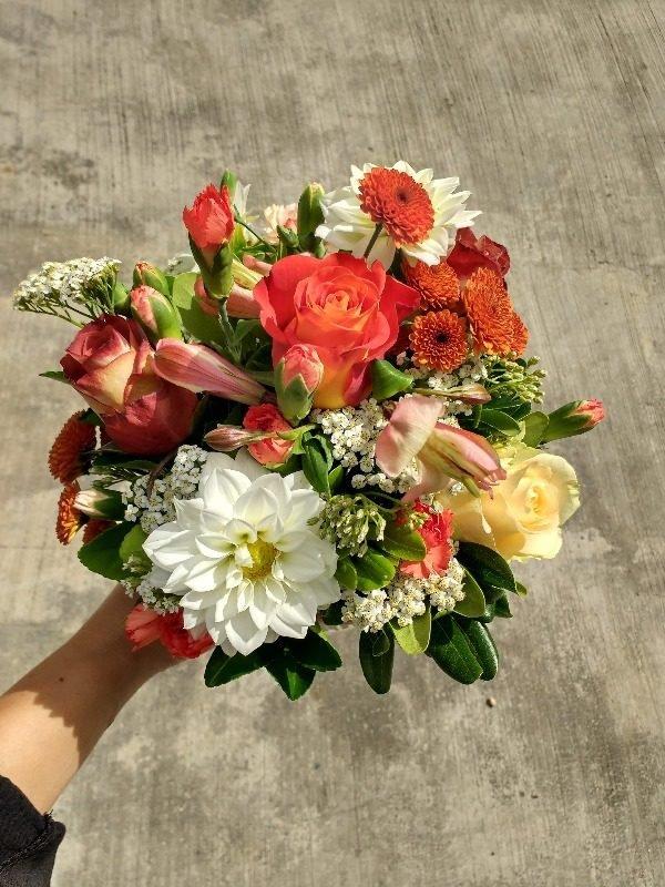 Arranjo de flores tamanho PP